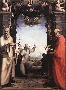 BECCAFUMI, Domenico Stigmatization of St Catherine of Siena oil painting