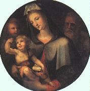 BECCAFUMI, Domenico The Holy Family with Young Saint John dfg oil painting picture wholesale