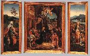 BEER, Jan de Triptych  hu255 oil painting picture wholesale