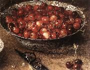 BEERT, Osias Still-Life with Cherries and Strawberries in China Bowls (detail) ghmh oil painting picture wholesale