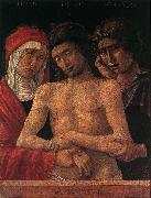 Dead Christ Supported by the Madonna and St John (Pieta) fd