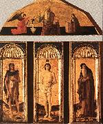 BELLINI, Giovanni St Sebastian Triptych oil painting picture wholesale