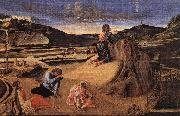 BELLINI, Giovanni Agony in the Garden dfd oil painting
