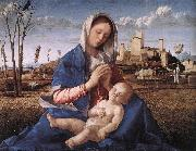 BELLINI, Giovanni Madonna of the Meadow (Madonna del prato) gh oil painting picture wholesale