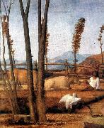 BELLINI, Giovanni Madonna of the Meadow (detail) ixtn China oil painting reproduction