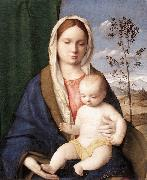 BELLINI, Giovanni Madonna and Child mmmnh oil painting reproduction