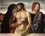 BELLINI, Giovanni Dead Christ Supported by the Madonna and St John (Pieta) oil painting picture wholesale
