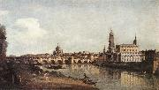 BELLOTTO, Bernardo View of Dresden from the Right Bank of the Elbe with the Augustus Bridge oil painting picture wholesale