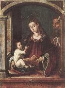 BERRUGUETE, Pedro Holy Family fghgjhg oil painting