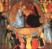BICCI, Nero di The Coronation of the Virgin  vhgf oil painting
