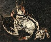 BOEL, Pieter Still-Life with Dead Wild-Duck gfh oil painting