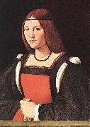BOLTRAFFIO, Giovanni Antonio Portrait of a Young Woman 55 oil painting