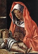 BONSIGNORI, Francesco Virgin with Child fh oil painting