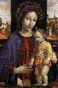 BORGOGNONE, Ambrogio Virgin and Child fdg oil painting