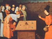 BOSCH, Hieronymus The Magician gfh oil painting picture wholesale