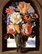 BOSSCHAERT, Ambrosius the Elder Bouquet of Flowers oil painting reproduction