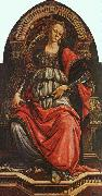 BOTTICELLI, Sandro Fortitude gf oil painting
