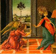 BOTTICELLI, Sandro The Cestello Annunciation dfg oil painting picture wholesale