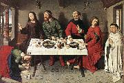 BOUTS, Dieric the Elder Christ in the House of Simon f oil painting