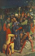 BOUTS, Dieric the Elder The Capture of Christ  gh oil painting