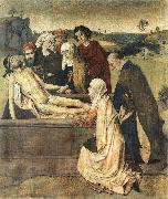 BOUTS, Dieric the Elder The Entombment fg oil painting