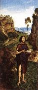 BOUTS, Dieric the Younger St John the Baptist fd oil painting