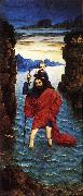 BOUTS, Dieric the Younger Saint Christopher dfg oil painting