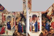 BROEDERLAM, Melchior The Dijon Altarpiece oil painting
