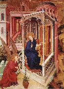BROEDERLAM, Melchior The Annunciation qow oil painting