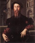 BRONZINO, Agnolo Portrait of Bartolomeo Panciatichi g oil painting picture wholesale