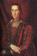 BRONZINO, Agnolo Portrait of Eleanora di Toledo oil painting picture wholesale