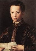 BRONZINO, Agnolo Portrait of Francesco I de Medici oil painting picture wholesale