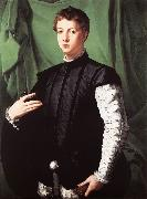 BRONZINO, Agnolo Portrait of Ludovico Capponi oil painting picture wholesale