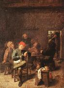 Peasants Smoking and Drinking f