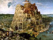 BRUEGEL, Pieter the Elder The Tower of Babel f oil painting