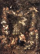BRUEGHEL, Jan the Elder The Holy Family fg oil painting picture wholesale