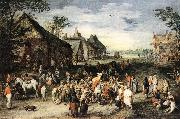 BRUEGHEL, Jan the Elder St Martin df oil painting on canvas
