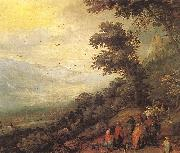 BRUEGHEL, Jan the Elder Gathering of Gypsies in the Wood fddf oil painting picture wholesale