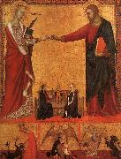 Barna da Siena The Mystical Marriage of St.Catherine oil painting picture wholesale