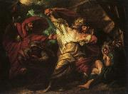 Benjamin West King Lear oil painting