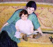 Bernhard Gutmann Mother and Baby Elizabeth oil painting picture wholesale