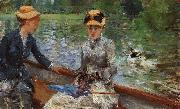 Berthe Morisot A Summer's Day oil painting picture wholesale