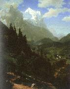 Bierstadt, Albert The Wetterhorn oil painting picture wholesale