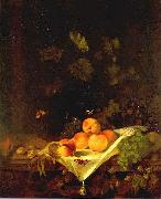 CALRAET, Abraham van Still-life with Peaches and Grapes oil painting picture wholesale