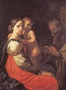 CANTARINI, Simone Holy Family dfsd oil painting