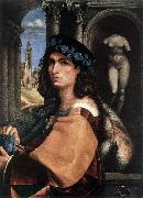 CAPRIOLO, Domenico Portrait of a Man df oil painting picture wholesale