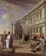 CARLEVARIS, Luca The Piazzetta and the Library oil painting picture wholesale