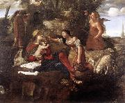 Rest on the Flight into Egypt dfg