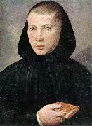 CAROTO, Giovanni Francesco Portrait of a Young Benedictine g oil painting