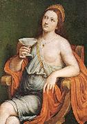 CAROTO, Giovanni Francesco Sophonisba Drinking the Poison df oil painting